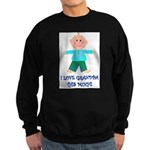 I LOVE GRANDPA BOY Sweatshirt (dark)