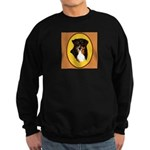 Australian Shepherd design Sweatshirt (dark)