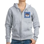 A Corgi Couple Women's Zip Hoodie
