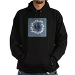 German Shepherd Profile Hoodie (dark)