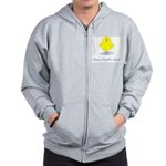 Mom's Little Chick Zip Hoodie