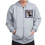 Smooth and Rough Collie Zip Hoodie