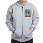 German Shorthair Pointer Zip Hoodie