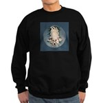 English Setter Puppy Sweatshirt (dark)