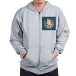 English Setter Puppy Zip Hoodie