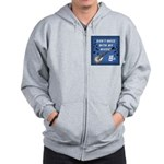 DON'T MESS WITH MY MUSIC Zip Hoodie