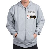 CAUTION NEW LICENSE Zip Hoodie