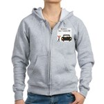CAUTION 16 YEARS OLD Women's Zip Hoodie