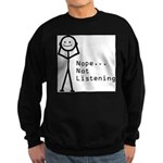 Selective Hearing Sweatshirt (dark)