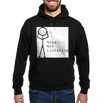 Selective Hearing Hoodie (dark)
