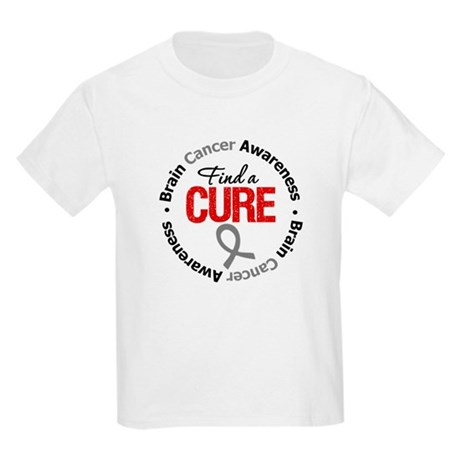 BrainCancerCure Kids Light T-Shirt