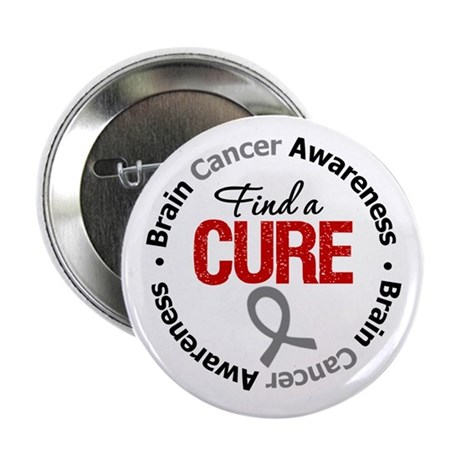 "BrainCancerCure 2.25"" Button"