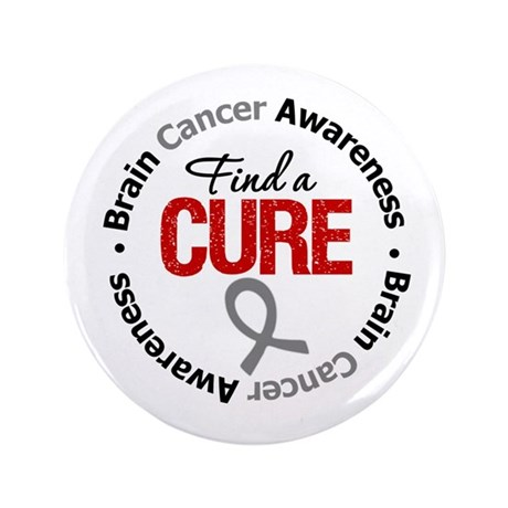 "BrainCancerCure 3.5"" Button"