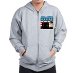 Whack A Candidate Zip Hoodie
