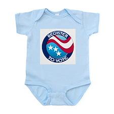 REGISTER TO VOTE Infant Creeper