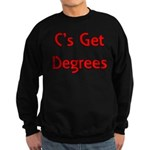 C Gets Degree Sweatshirt (dark)