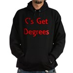 C Gets Degree Hoodie (dark)