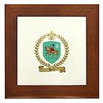 PEROT Family Crest Framed Tile