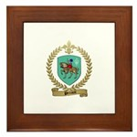 PERRAULT Family Crest Framed Tile