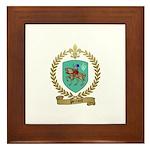PERRAULT Family Crest Framed Tile