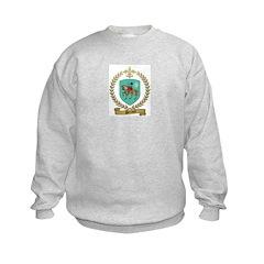 PERRAULT Family Crest Kids Sweatshirt