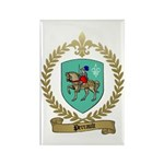 PERRAULT Family Crest Rectangle Magnet