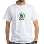 PERRAULT Family Crest White T-Shirt