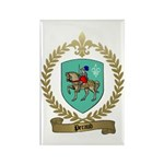 PERAUD Family Crest Rectangle Magnet (100 pack)