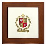 PELTRET Family Crest Framed Tile