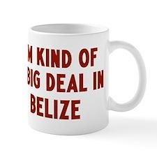 Big Deal in Belize Mug