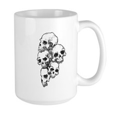 """Skull Pile"" Mug"