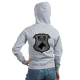 K-9 Badge Zipped Hoody