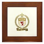 PETIT PRINCE Family Crest Framed Tile