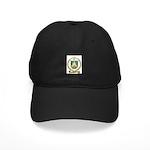 PELTIER Family Crest Black Cap