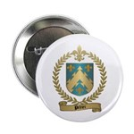 PELTIER Family Crest Button