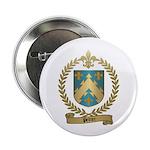 PELTIER Family Crest Button