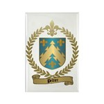 PELTIER Family Crest Rectangle Magnet (10 pack)
