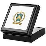 PELTIER Family Crest Keepsake Box