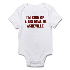 Big Deal in Asheville Infant Bodysuit