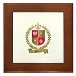 PELLETRET Family Crest Framed Tile