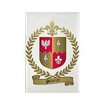 PELLETRET Family Crest Rectangle Magnet (10 pack)