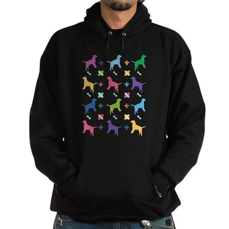 Labrador Retriever Designer Hoodie (dark)