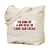 Big Deal in Cabo San Lucas Tote Bag