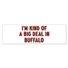 Big Deal in Buffalo Bumper Sticker (10 pk)