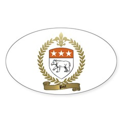 PART Family Crest Oval Sticker