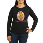 Albanian Chick Women's Long Sleeve Dark T-Shirt