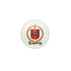 OUELLETTE Family Crest Mini Button (10 pack)
