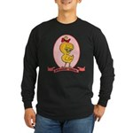 Albanian Chick Long Sleeve Dark T-Shirt