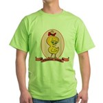 Albanian Chick Green T-Shirt