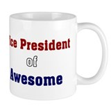 Vice President of Awesome Small Mug